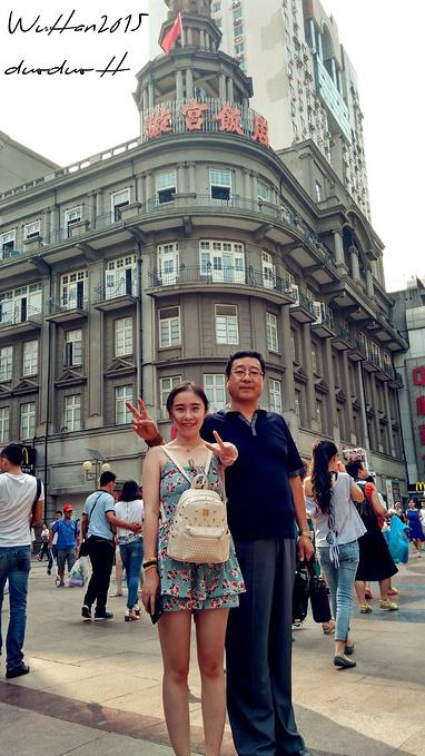 江汉路步行街图片