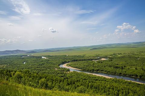 根河源国家湿地公园旅游景点攻略图
