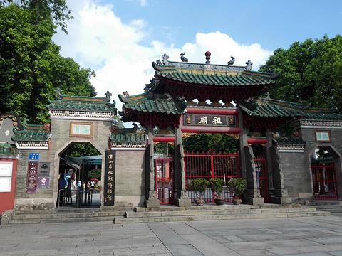 佛山祖庙旅游景点攻略图