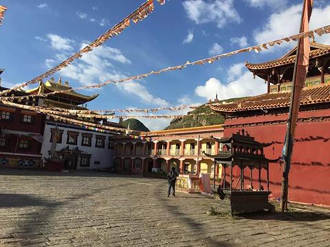 塔公寺旅游景点攻略图