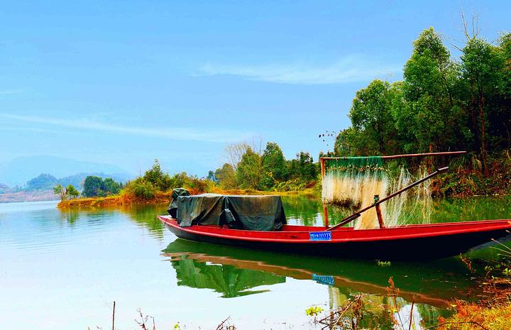 """""""资江真的是新化风景中一绝,具有很高的观赏价值。沿江游览,一船游览的景点,处处都有美景和惊喜_资江""""的评论图片"""