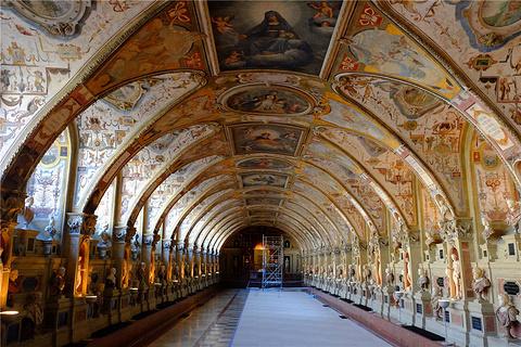 慕尼黑王宫旅游景点攻略图