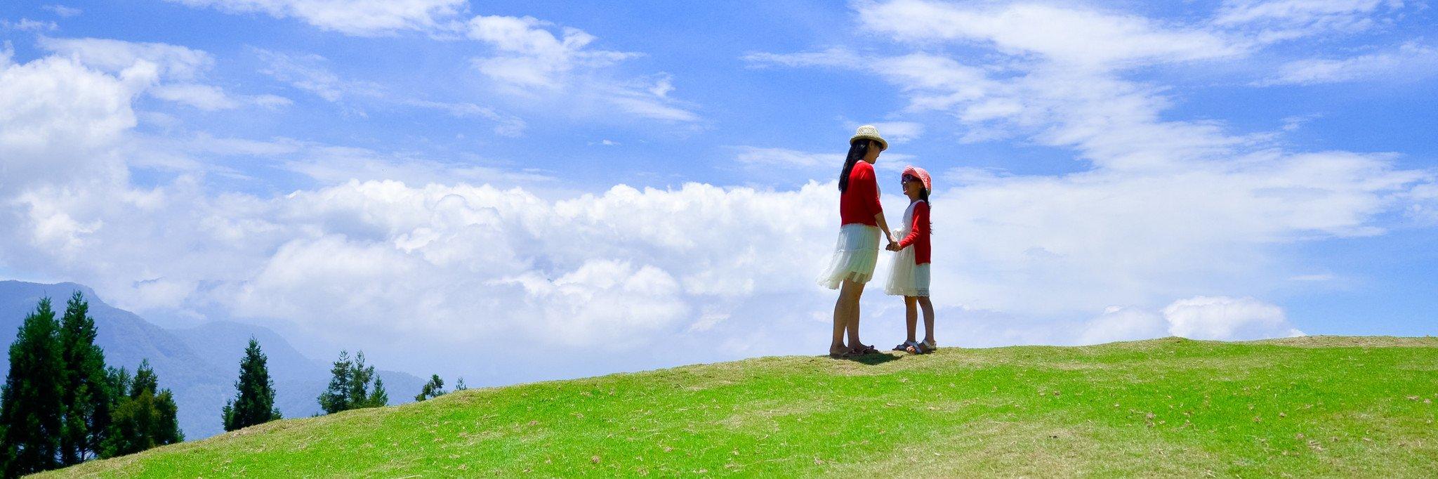 父母和孩子,小清新的台湾游