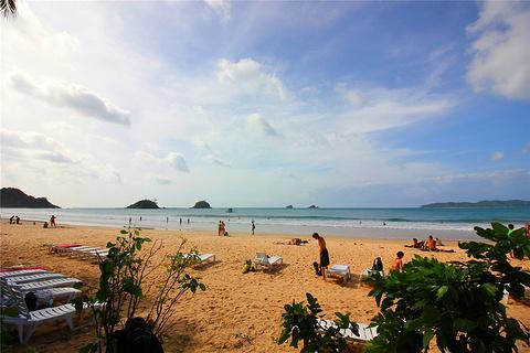 纳克潘与卡礼唐海滩(双子海滩)旅游景点攻略图