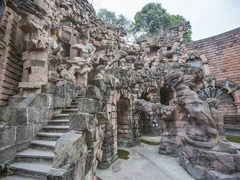 石刻艺术墙旅游景点图片