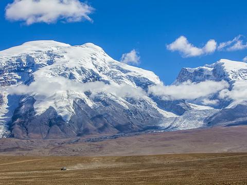 慕士塔格冰山旅游景点图片