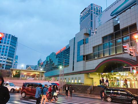 JR塔-购物中心旅游景点攻略图