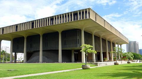 夏威夷州议会大厦旅游景点攻略图