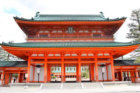 平安神宫的图片