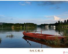 周末两天仁寿黑龙滩露营,还可以开车到湖边 野行自驾