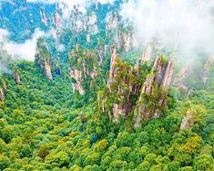 张家界武陵源,人间仙境、绝版美景
