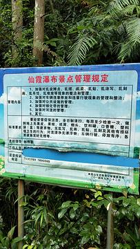 仙霞瀑布旅游景点攻略图