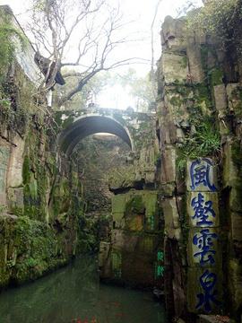 虎丘剑池旅游景点攻略图