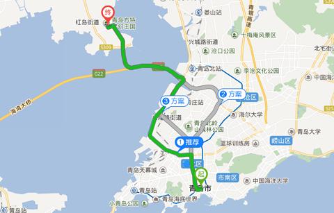 青岛方特梦幻王国旅游景点攻略图