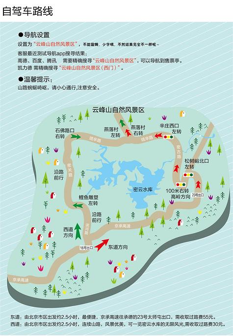 云峰山旅游导图