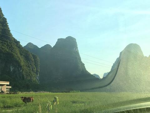 钟山十里画廊旅游景点图片
