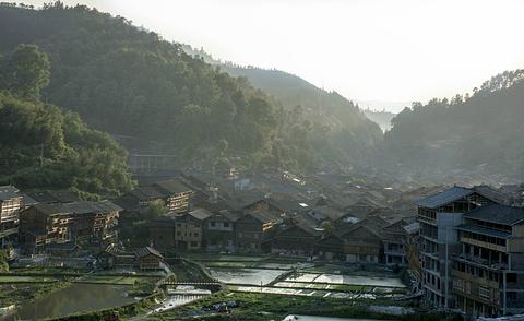 肇兴侗寨旅游景点攻略图