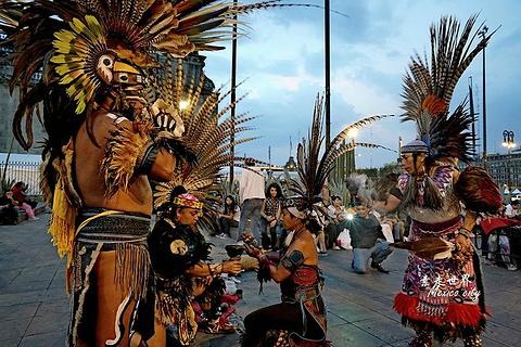 墨西哥城宪法广场旅游景点攻略图