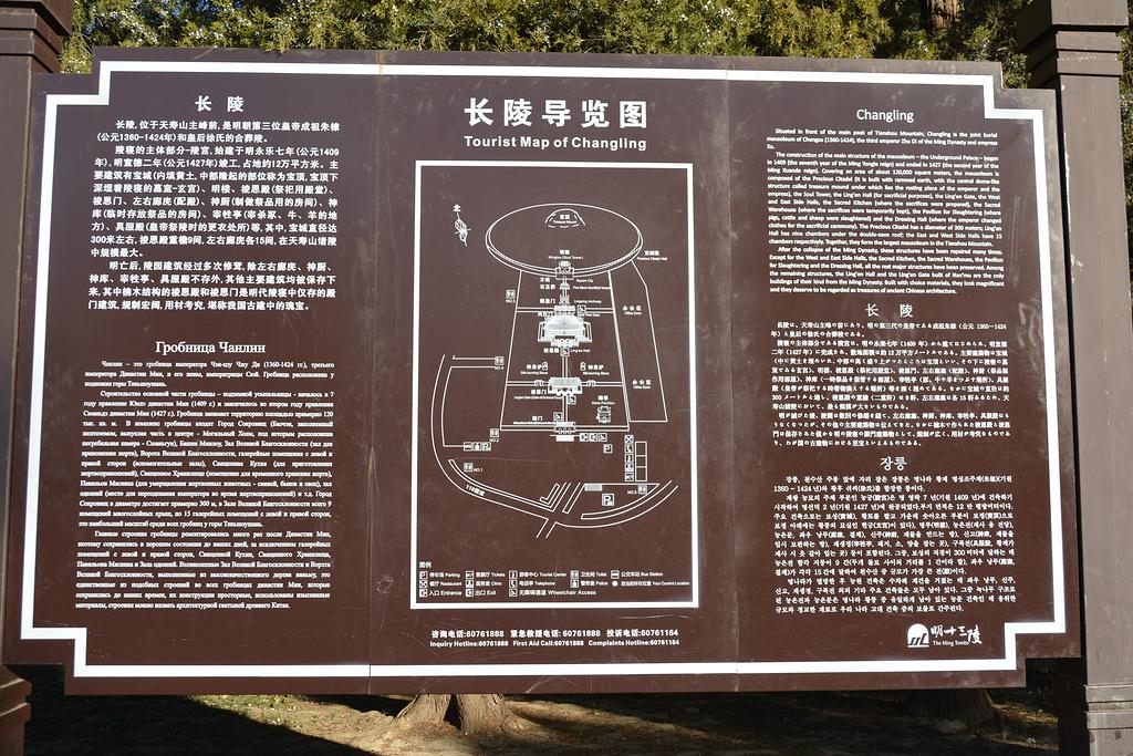 长陵旅游导图