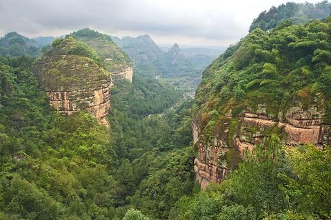 方岩山旅游景点攻略图
