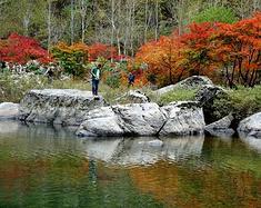 秋游辽东(3)本溪湖里风景区
