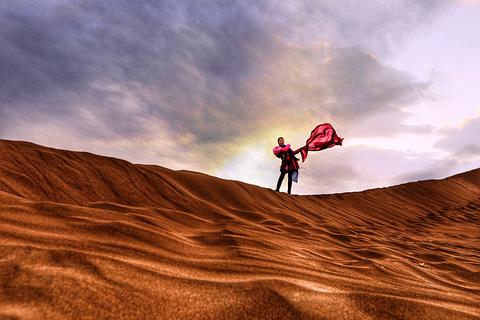库木塔格沙漠旅游景点攻略图