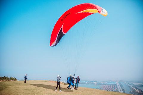 伏龙山滑翔伞训练基地