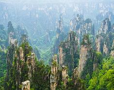 张家界两日游,欣赏江山如画的世外美景