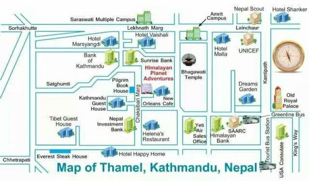 泰米尔旅游导图
