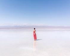 盐湖中漫舞,雪原上奔跑,青海大环线遇见最美的你(附环线旅拍攻略)