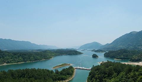 仙岛湖风景区旅游景点攻略图