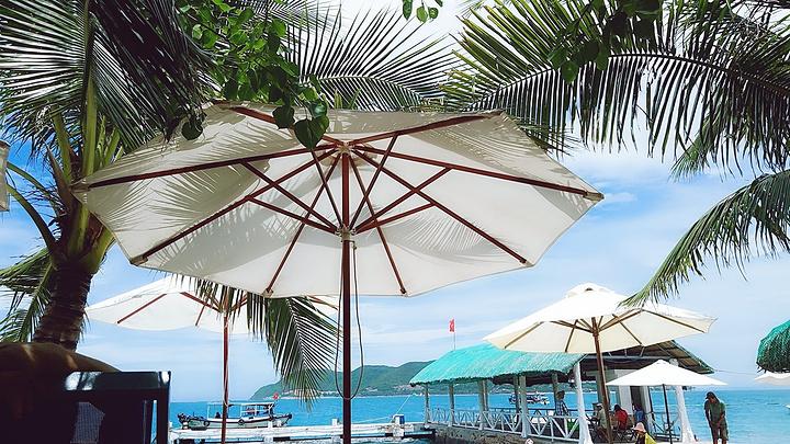 """""""...划算的一日游了(竹岛、黑岛、海燕岛、珊瑚岛)由于风浪太大就去了个竹岛,岛上用的简餐,还可以入口_竹岛""""的评论图片"""