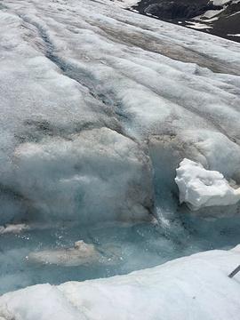 阿萨巴斯卡冰河旅游景点攻略图