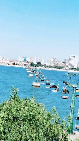 南戴河海上缆车_2020【缘起美丽传说】来到这里是因为跨海索道和海螺姑娘的美丽 ...