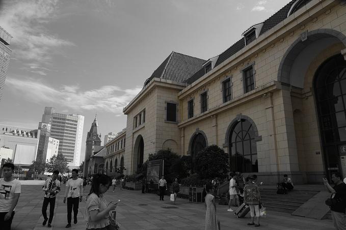 青岛火车站图片