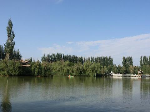 酒泉公园旅游景点图片