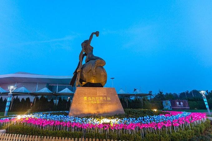 崂山区世纪广场图片