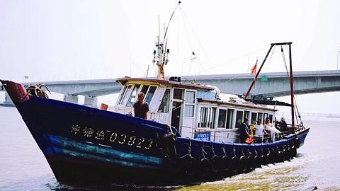 北塘渔村的图片