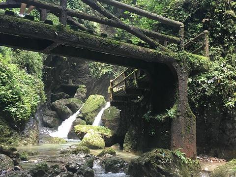 龙隐峡栈道旅游景点图片