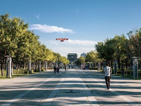 永定门公园旅游景点图片