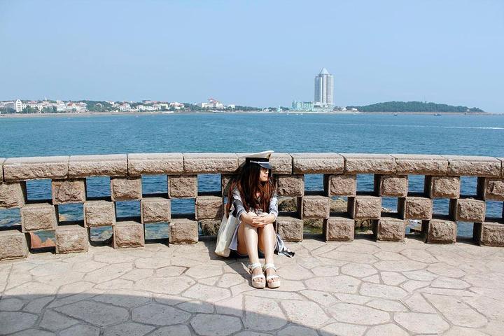 """""""       青岛鲁迅公园为汇泉景区第一景点,也是青岛最富特色的临海公园_鲁迅公园""""的评论图片"""