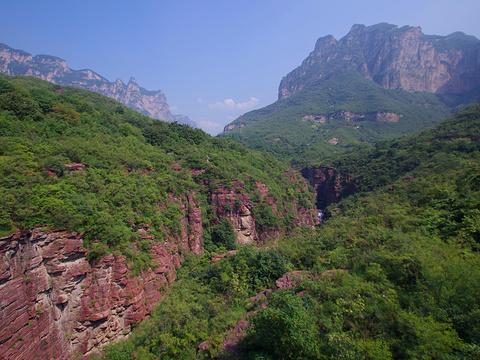 云台山风景名胜区旅游景点图片