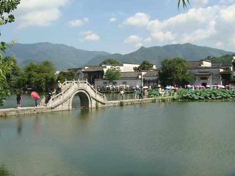 宏村旅游景点图片