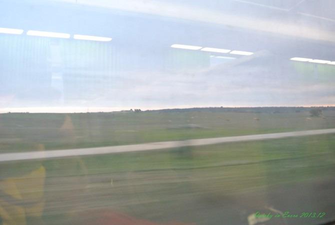 火车上的景色图片