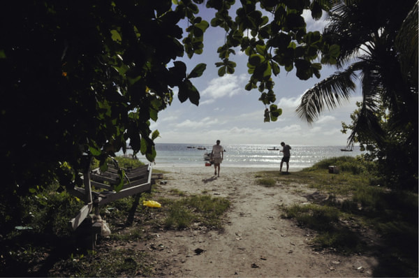 普拉兰岛图片