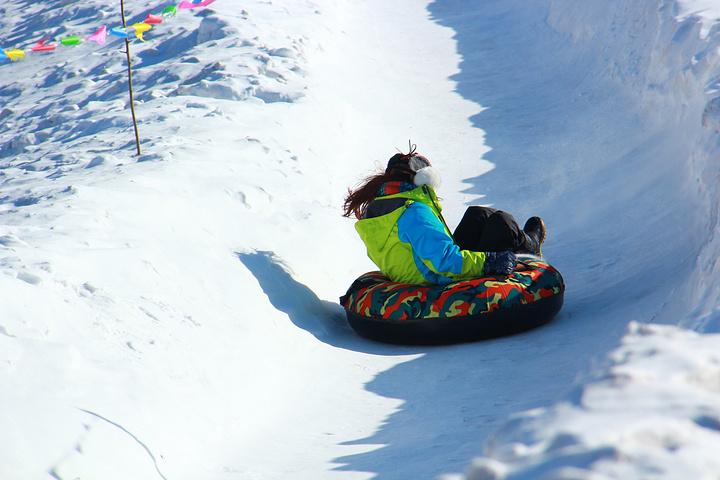 Image result for 哈尔滨 雪圈