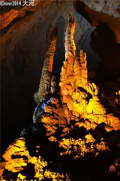 黄龙洞旅游景点攻略图