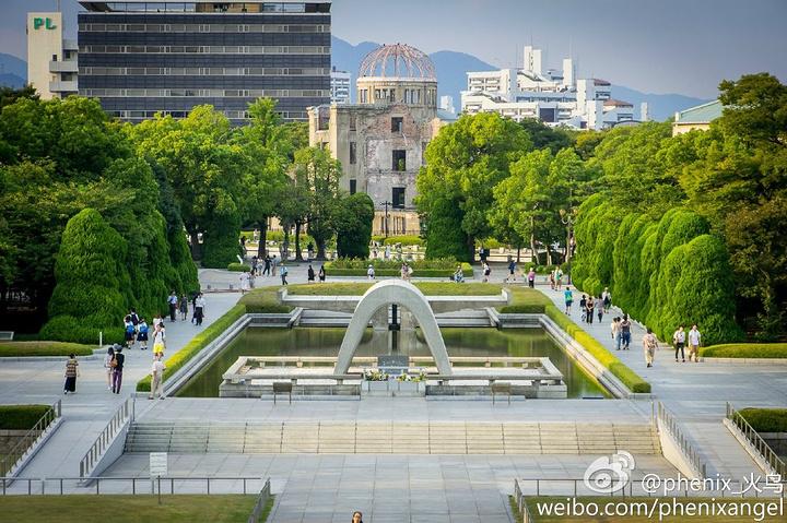 """""""参观完宫岛之后,坐轮渡回到渡口,再坐有轨..._和平纪念公园""""的评论图片"""