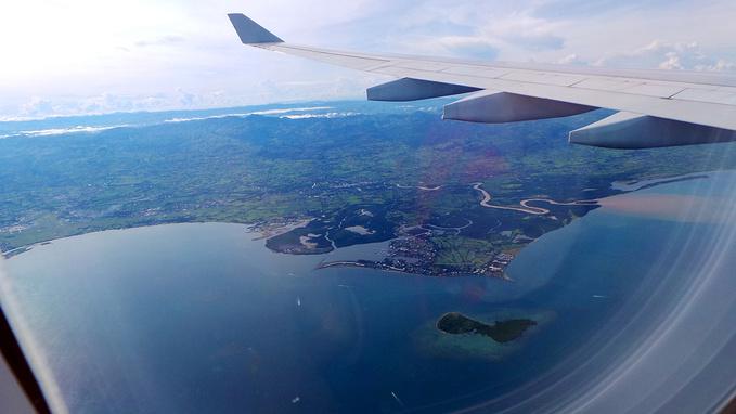 飞往斐济图片