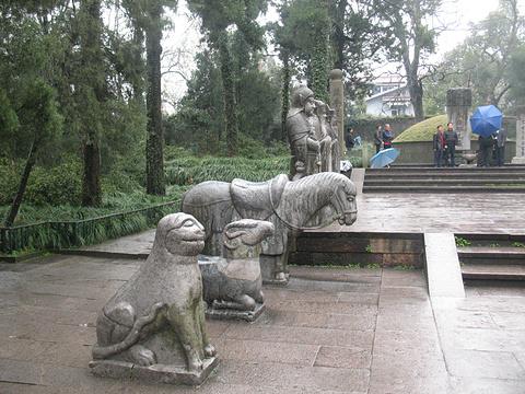 岳王庙景区旅游景点攻略图